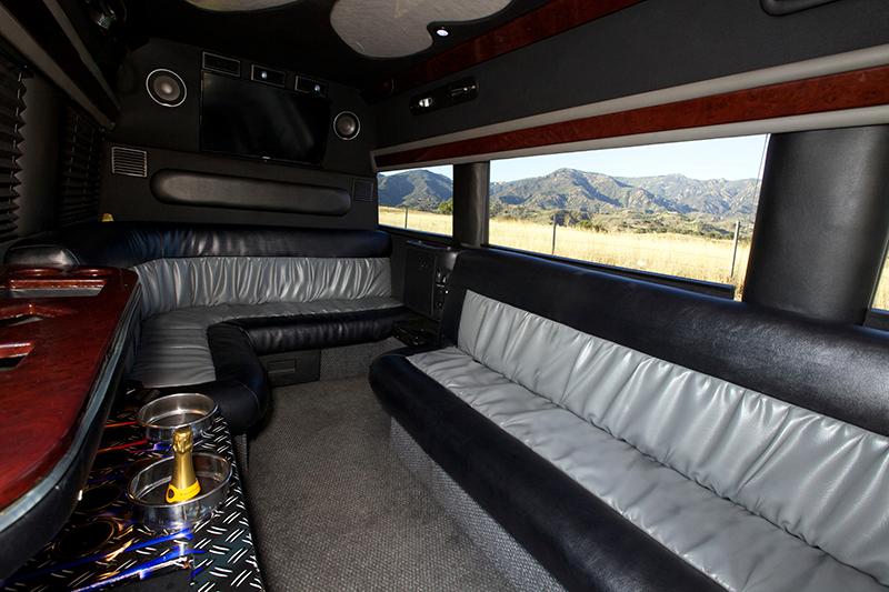 Tour Van Preferred Limo Sprinter Van